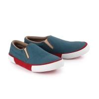 Sepatu Anak Laki-Laki Model Slip On Jeans Casual anak Trendy Branded