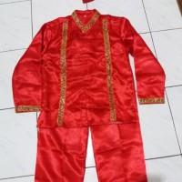 Baju Makassar Tk - Sd // Baju Bodo Laki // Pakaian Adat Sulawesi S - M