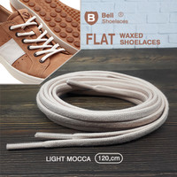 Tali Sepatu Flat Lilin 120cm Converse adidas nike ( waxed Shoelace )