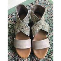 Sepatu/ Sandal Wedges INUOVO+Leather+original
