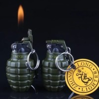 KOREK API GRANAT M 26A2 Hijau Militer Korek Api dengan Gantungan Kunci