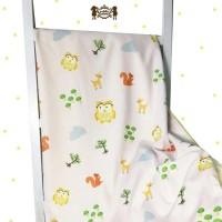 Selimut Bayi Katun Jepang Owl - Petite Mimi