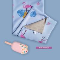 Selimut Bayi Katun Jepang Flaminggo - Petite Mimi