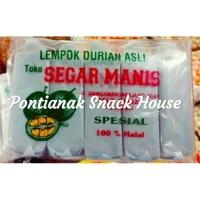 Lempok Durian Segar Manis Uk. Sedang