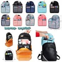 BackPack Organizer / Dual in Bag for Backpack/ Daleman Tas Ransel