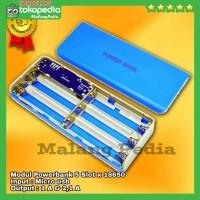 DIY Modul Mesin Powerbank Power Bank + Case Casing 2 port 5x18650