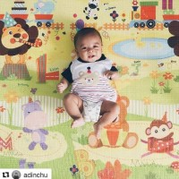 HOT PROMO Karpet Bayi Playmat Roll PE Parklon korea MURAH