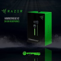 Handset Headset Gaming Razer Hammerhead Pro V2 Earphone PUBG DAN ML