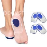 BDS Insole Silikon Gel Penyangga Tumit Orthotic untuk Sepatu Pria Wani
