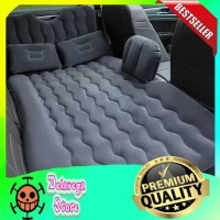Kasur Matras Angin Mobil Travel Inflatable Bed Air Pump HITAM