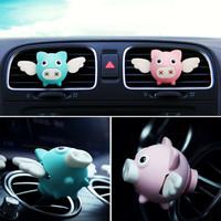 Babi Terbang Flying Pig Car Air Outlet Pengharum Mobil Aromatheraphy