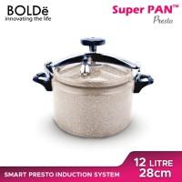 BOLDe SUPER PAN PRESTO 12L GRANITE COATING