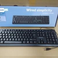 Philips K234 PH-SPK6234 Silent standar Keyboard USB