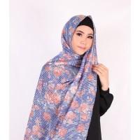 Hayman Hijab / Jilbab / Kerudung pasmina sabyan diamond Motif Bunga