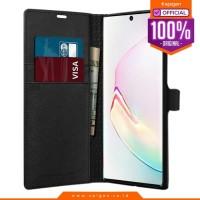 case Galaxy note 10 plus / note 10 spigen leather wallet s flip casing
