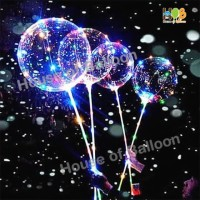 Balon LED Bobo RGB Lengkap / Lampu Tumblr 3 MODE + Gagang
