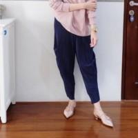 Celana Panjang Wanita CELANA KULOT ALADIN PLISKET CUBIT MURAh muslim