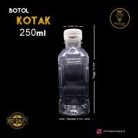 Botol Cimory Kotak 250 ml / Botol Plastik
