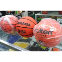 Bola Basket MIKASA SPALDING MOLTEN Murah Size 6