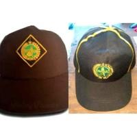 Baru Topi Siaga Bordir - Topi Siaga Putra - Topi Siaga Putri - Topi