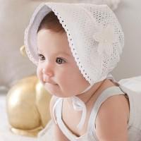 Baru Topi Bonnet Bayi Perempuan Bunga /Baby Girl Princess Flower Cute