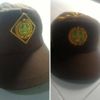Baru Topi Pramuka Siaga Putra /Topi Siaga Putri /Topi Pramuka Bordir