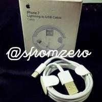 kabel data iphone original. support itunes not type c fast charging