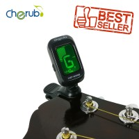Cherub WST-2058B Clip On Tuner Chromatic Gitar Bass Biola Ukulele