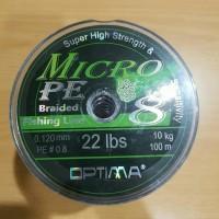 Senar Pancing PE Optima Micro