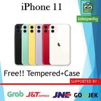 [DUAL] iPhone 256GB 128GB 64GB 11 Black White Yellow Red Green Purple