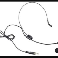 murah microphone wireless headset jack 3.5mm derat luar mik original