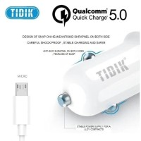 TIDIK Q5S SAVER MICRO Qualcomm Quick Charge 5.0 Travel Charger Mobil
