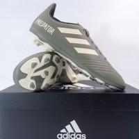 Sepatu Bola Anak Adidas Predator 19.4 FXG JR Legacy Green EF8221 Ori