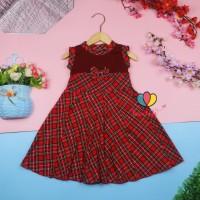 Dress Aila 3-4 Tahun / Dres Pesta Murah Grosir Baju Anak Perempuan