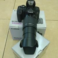 Canon Eos 800D kit 18-200mm + Lensa Canon 50mm Stm F/1.8