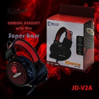 Headset Gaming Kubite JD-V2A with LED Murah
