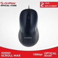CLIPtec - RZS950 Scroll Max USB Mouse Optik Murah Murah