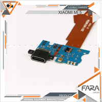 FLEXIBLE XIAOMI MI5 CON CHARGER+MIC PAPAN PCB CONEKTOR CON CAS MI 5 TC
