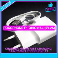Charger Xiaomi Mi A2 Pocophone F1 Fast Charging USB C Original 100%