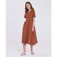 Eloisetowear Kit Dress in Rust