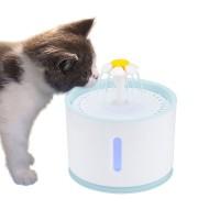 ABEDOE Water Dispenser Air Mancur Tempat Minum Anjing Kucing 2.4L