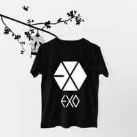 Tumblr Tee / T-Shirt / Kaos Wanita Lengan Pendek EXO LOGO