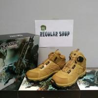 Sepatu Boots Tactical ESDY 6 Putar CK (coklat)