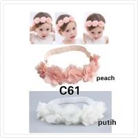 babygwen bando 5 bunga headband bayi dan anak