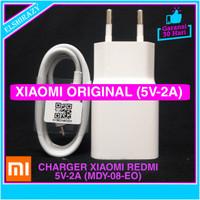 Charger Adaptor Casan Xiaomi Redmi Note 6 Pro Original 100% Micro USB - Putih
