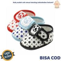 TokoDedee - Sepatu Bayi Laki-Laki Gambar Bola Dan Bintang/ sepatu bayi