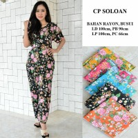 setelan cp soloan - baju piyama batik wanita