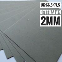 Kertas Karton Board No 30 Ukuran Plano 77.5 cm X 66.5 cm