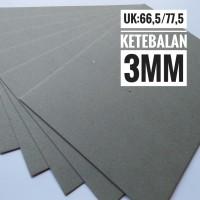 Kertas Karton Board No 20 Ukuran Plano 77.5 cm X 66.5 cm