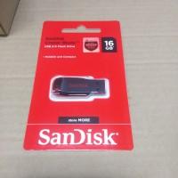Sandisk Flashdisk 16 Gb Cruzer Blade